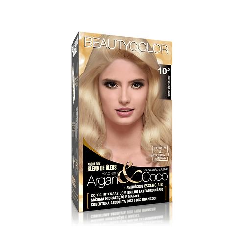 Coloração BeautyColor 10.0 Louro Claríssimo 50g