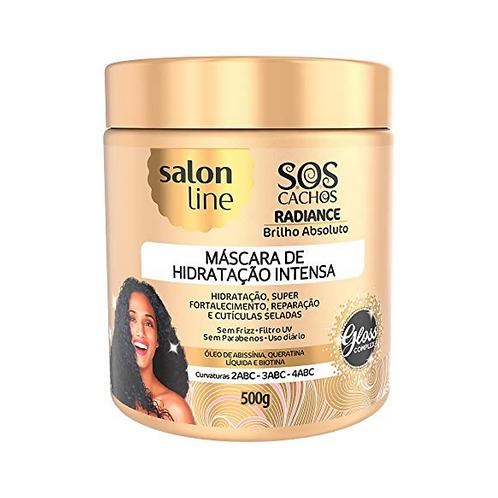 Máscara Salon Line SOS Cachos Radiance Brilho Absoluto 500g