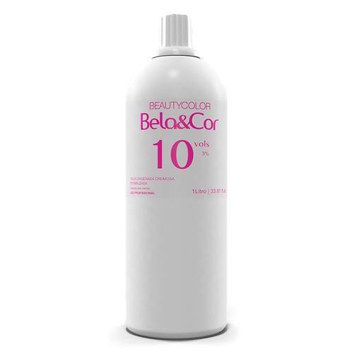 Água Oxigenada Cremosa Beautycolor Bela&Cor 10vol 1L