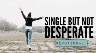 SINGLE BUT NOT DESPERATE