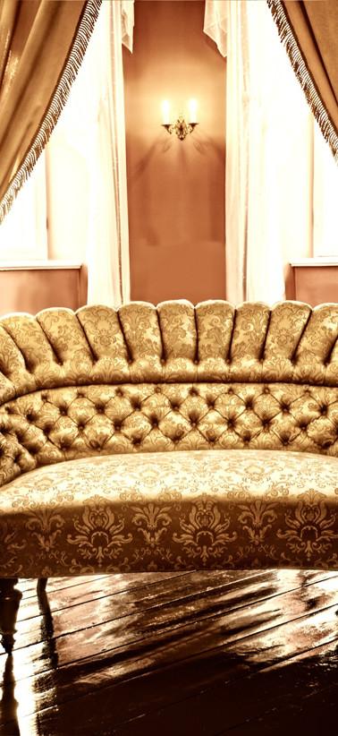Gold Luxus-Stuhl