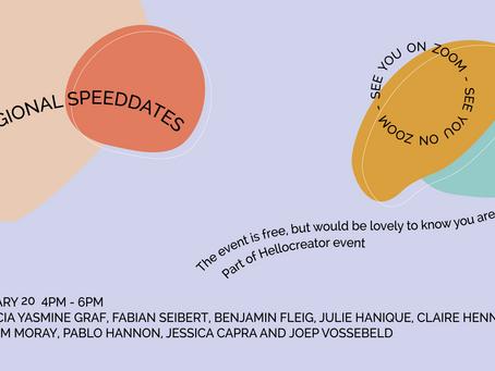 Creative Hub Euregio Speed-Dates – a digital event to talk, listen and network