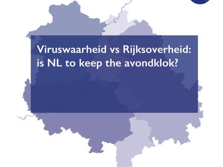 Viruswaarheid vs Rijksoverheid: is NL to keep the avondklok?