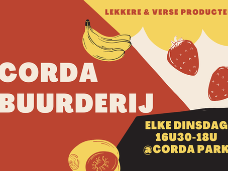 Corda Buurderij – local produce on Corda Campus in Hasselt