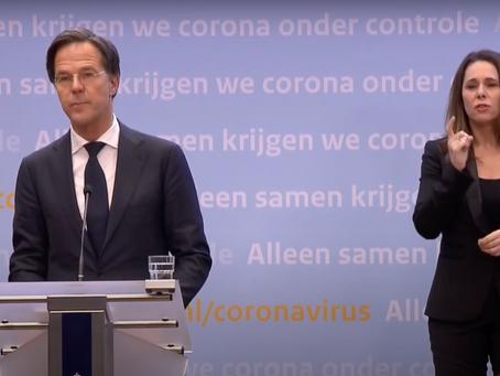 Avondklok: plans for curfew announced for the Netherlands