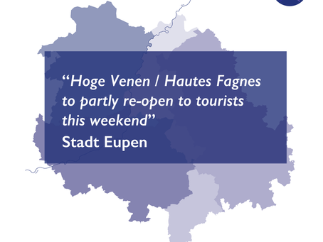 Hoge Venen / Hautes Fagnes to partly re-open to tourists