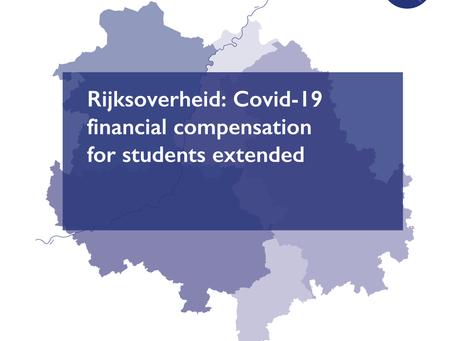 Rijksoverheid: financial compensation for students extended