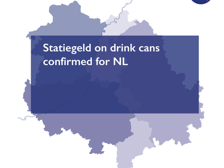 Statiegeld on drink cans confirmed for NL