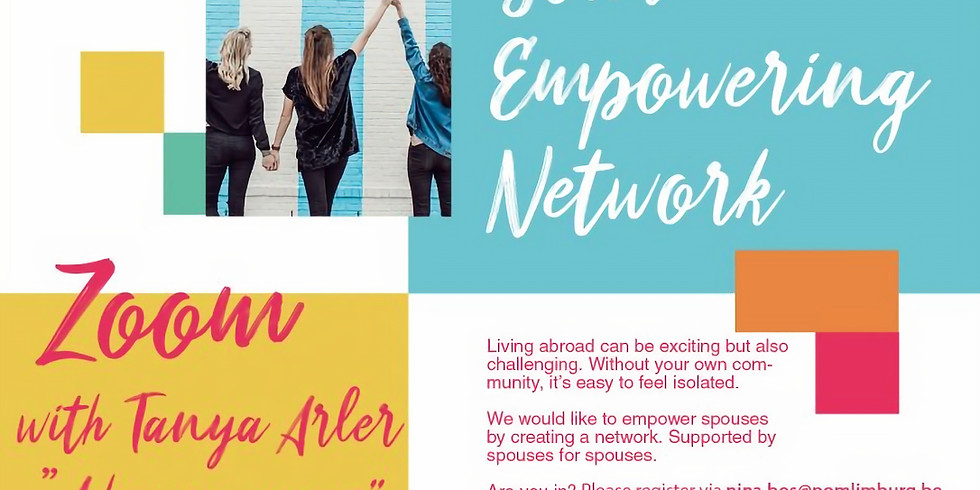 2nd digital spouse network Zoom event with Tanya Arler: A happy Expat