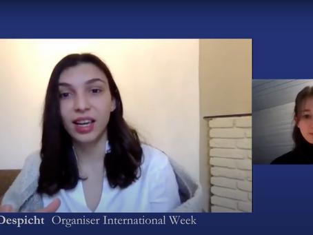 The International Week: enter an international virtual experience
