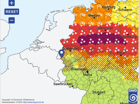 Storm Darcy set to create havoc across the Euregio Meuse-Rhine