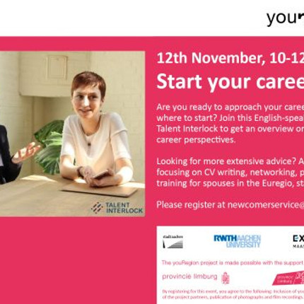 Start your career in youRegion!