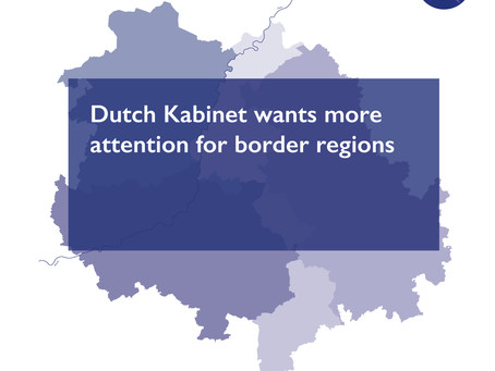 Dutch Kabinet wants more attention for border regions