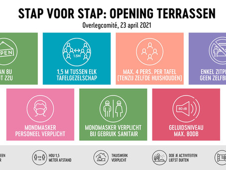 """Belgium: """"We must be able to enjoy our freedom responsibly"""" – plans for reopening"""