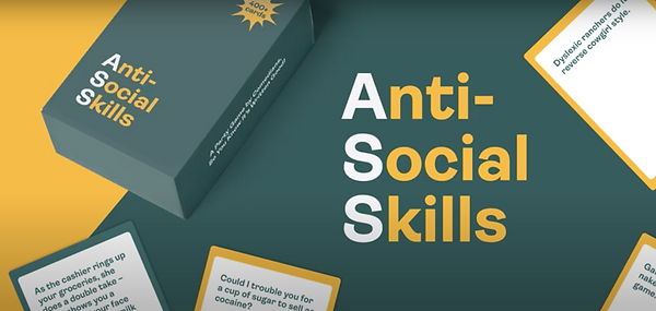 Anti-Social Skills Adult Party Game Show