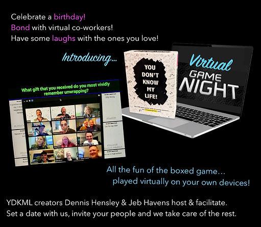 Get To Know Ya Game Night