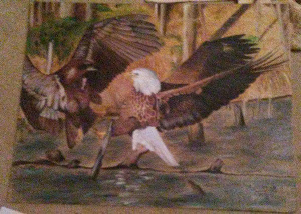 Eagles painting