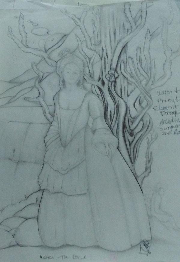 sketch, prison art