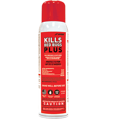 JT Eaton Kills Bed Bug Plus Spray Aerosol