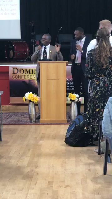 Dominion Conference 19 Part2 Service with Past Vivaldi, Nantes France and Pastor John M Sheffield