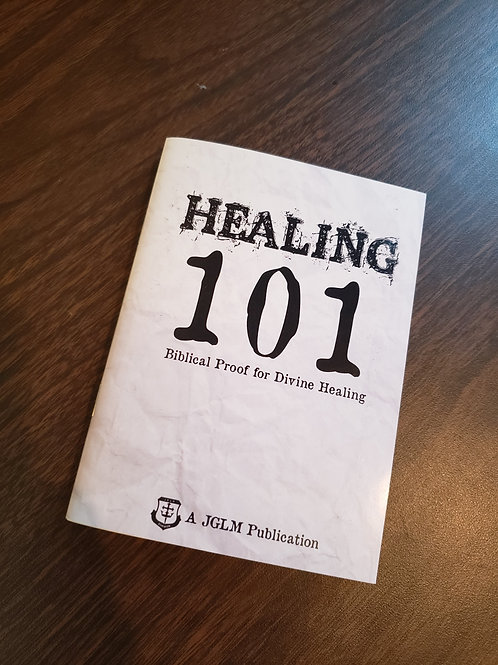Healing 101 – by Curry Blake