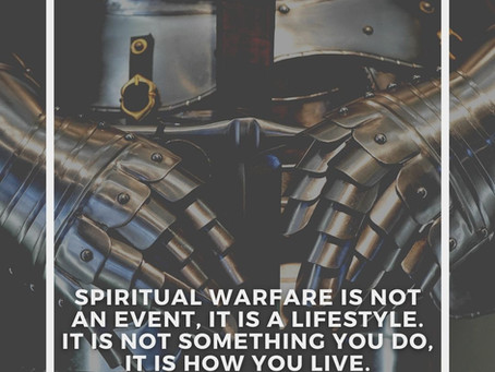 Spiritual Warfare Apostolic Training