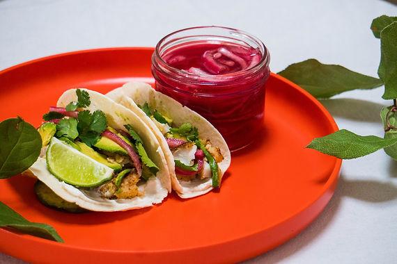 Tacos Mexicain d'Aiglefin