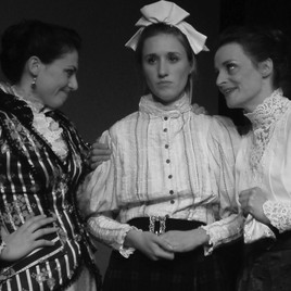 """Corinne Davies as Claire in """"Boston Marriage"""""""