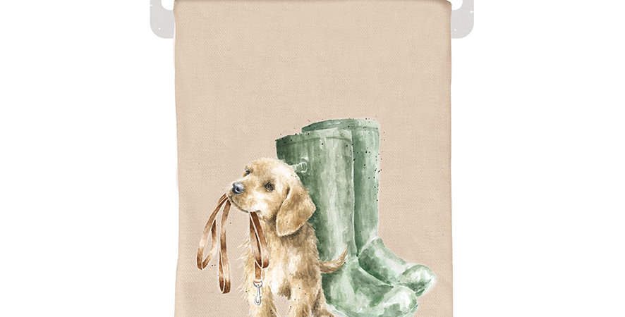 Wrendale Winter Scarf Dog design