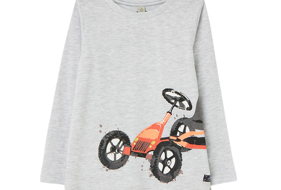 Joules Action Slim Long Sleeve T Shirt