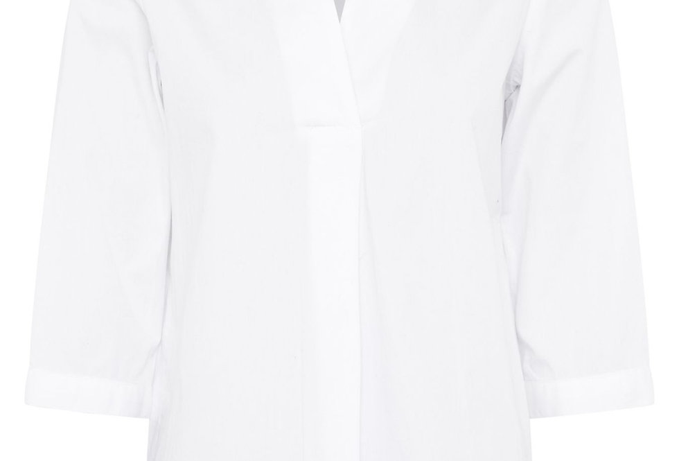 Great Plains Pop Over White Shirt