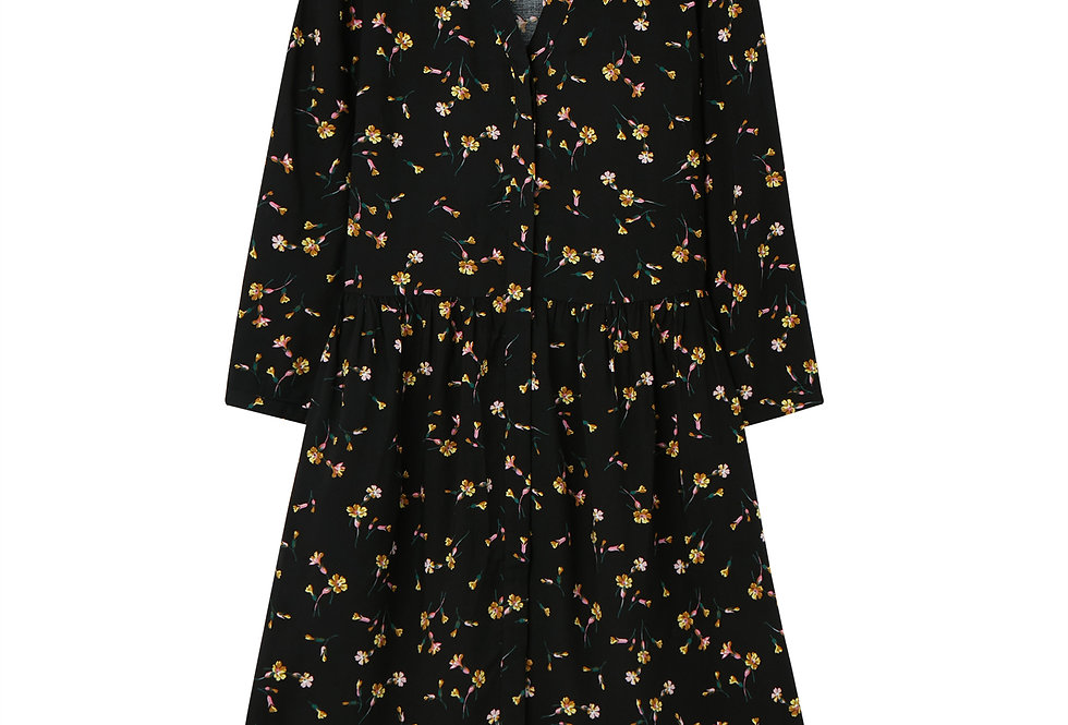 Joules Karis Dress Black Primrose