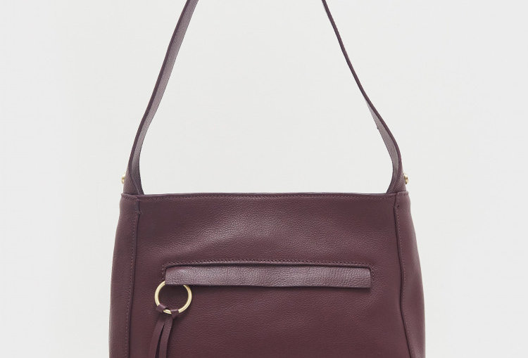 White Stuff Nicky Leather Hobo Bag