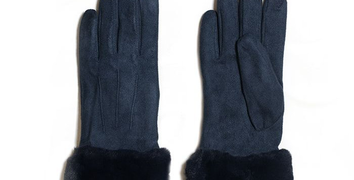 Miss Sparrow Navy Stella Gloves