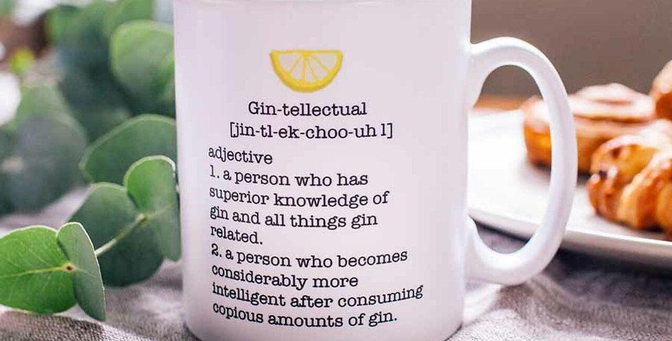 Gin-tellectual Mug
