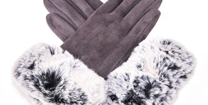 Miss Sparrow Echo Grey Gloves