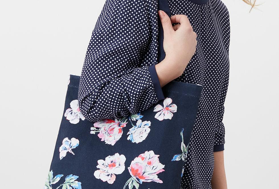 Joules Lulu Navy Floral Bag