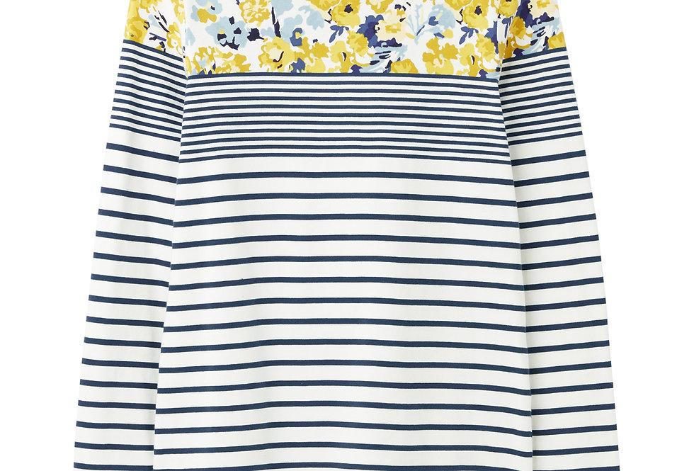 Joules Harbour Cream Blue Floral