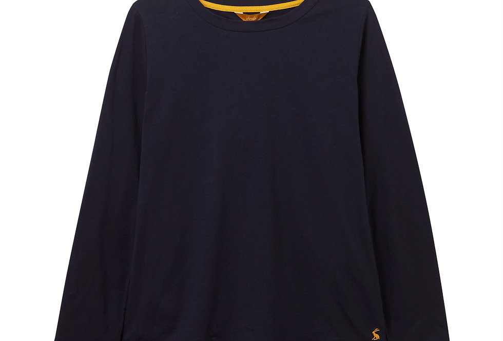 Joules Selma Navy Solid