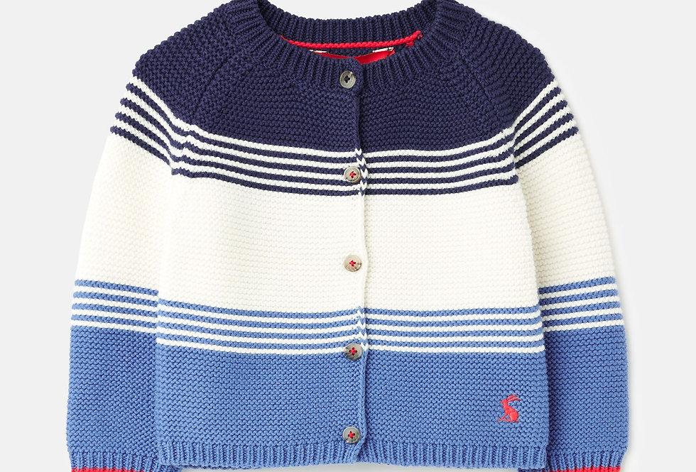 Joules Haywood baby Cardigan Blue
