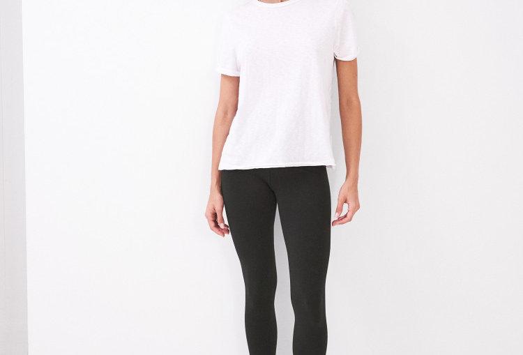 White Stuff Maddie Organic Leggings Black