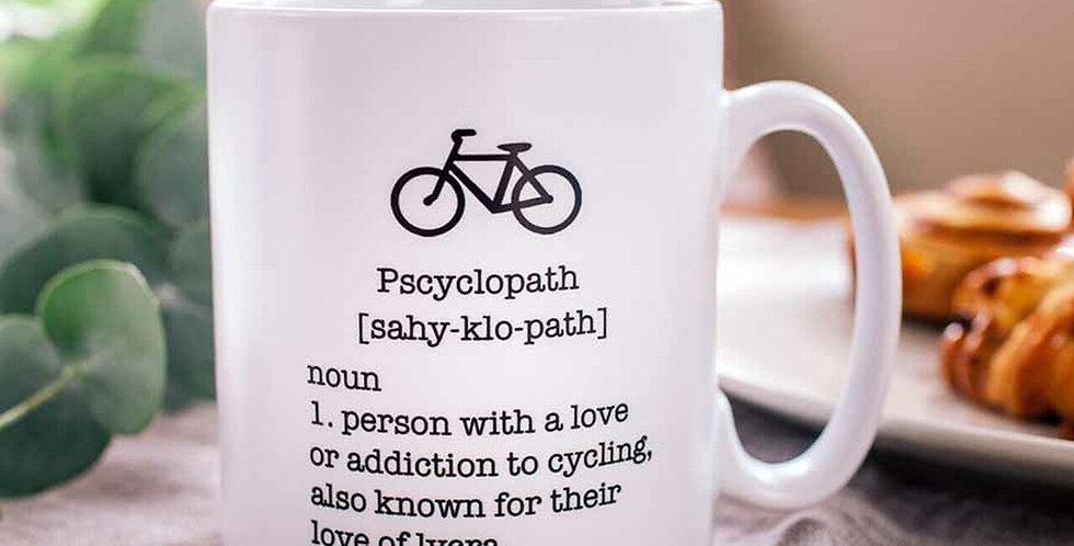 Pscyclopath Dictionary Definition  Mug