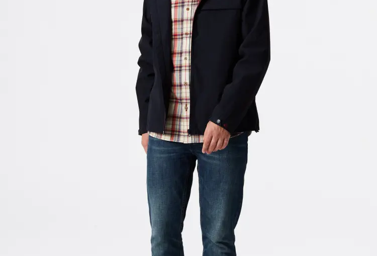 White Stuff Men's Windermere Navy Jacket
