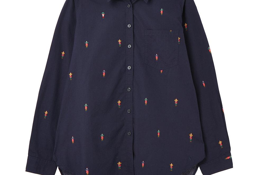 Joules Lorena Navy Scotsman Shirt