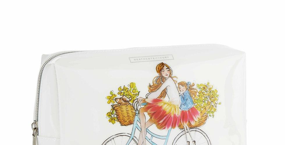 Heathcote & Ivory #SomeFlowerGirls Large Cosmetic Bag