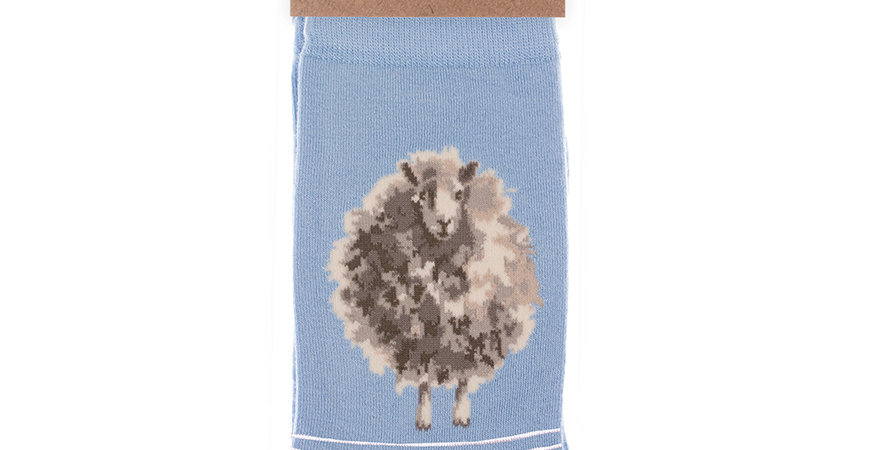 Wrendale Sheep  Bamboo Socks and Gift Bag