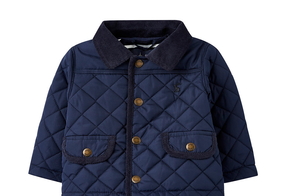 Joules Milford Navy Baby Coat