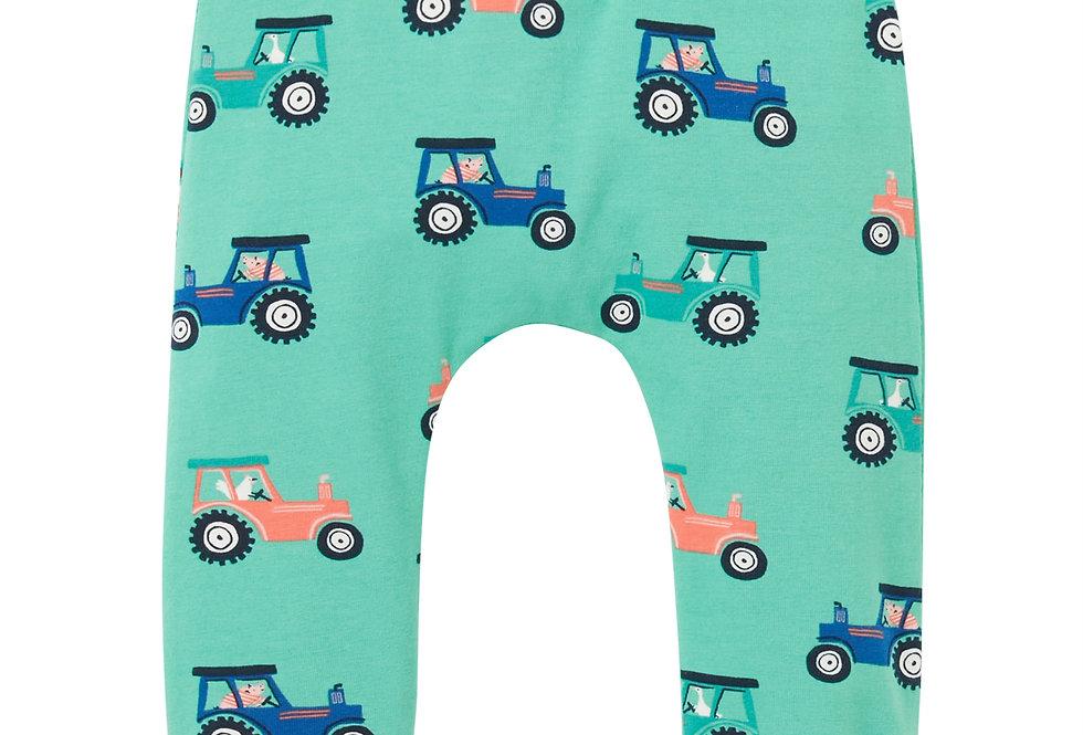 Joules Payton Green Tractor Leggings