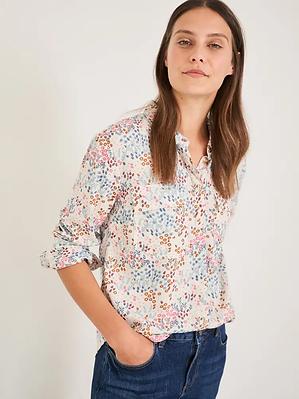 White Stuff Floral Printed Shirt