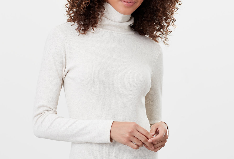 Joules Clarissa  Roll Neck Oat Marl